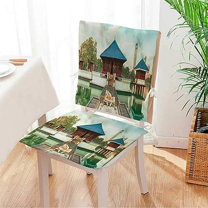 Amazon com: Miki home Chair Cushion Seema Malaka Temple on Beira