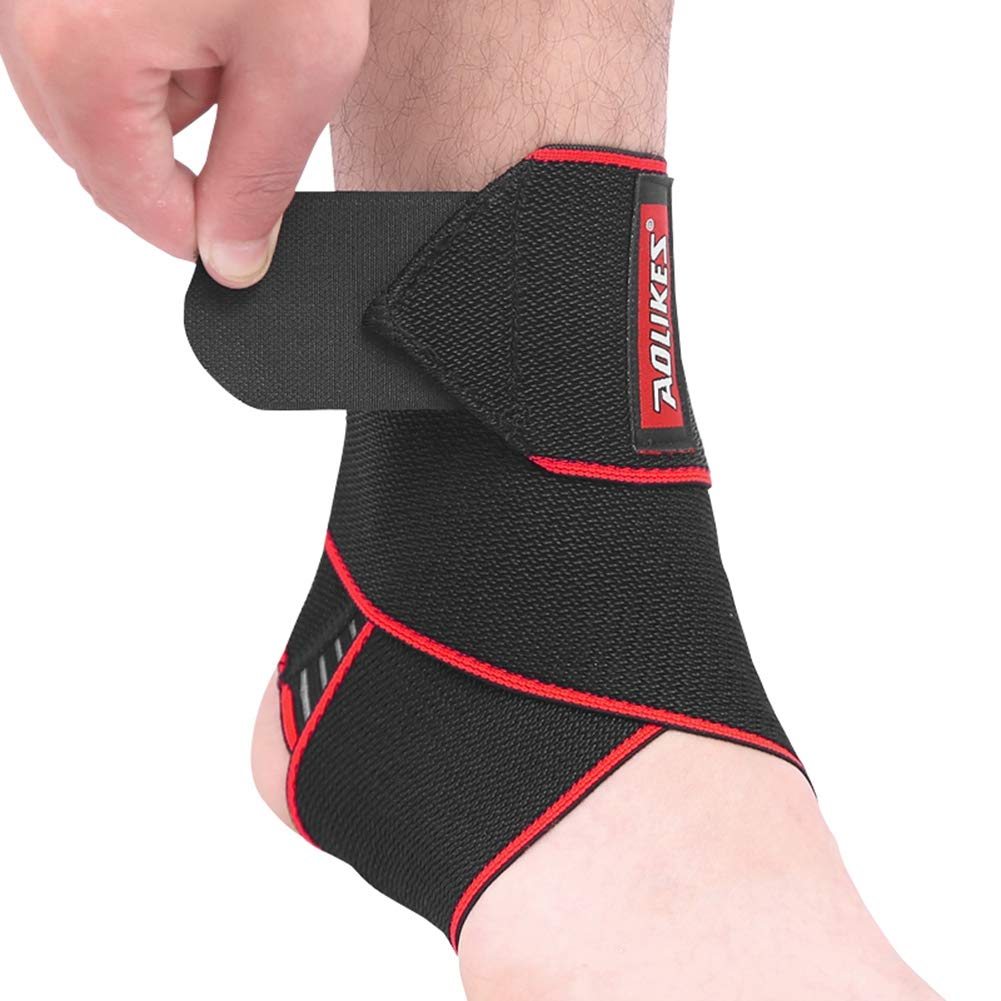 1PCS Compression Ankle Brace Ankle Protectors Pads Anti Sprain Ankle Supports Bands for Men Women