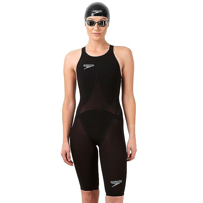 Speedo Mujer Racer V2 K Skin Traje De Baño Nadar Natación ...
