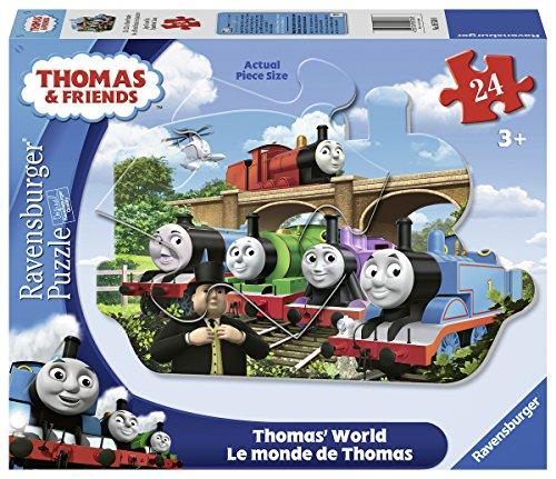 (Ravensburger Thomas & Friends: World Shaped Floor Puzzle (24 Piece))