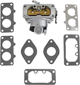 Replace 15004-0757 15004-0760 Carburetor/Carb with Gaskets Compatible with Kawasaki Nikki 22 HP FH721V FH641V FH661V FH601V FH680V FX850V Engine (Replace 15004-0757)