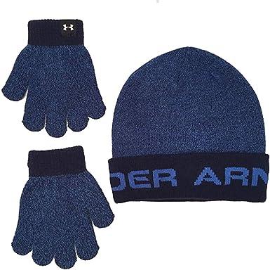 Mañana Dental botón  Under Armour UA - Gorro de esquí con puños y calavera para clima frío,  gorro de invierno y guantes (azul marino Royal azul jaspeado gráficos  mezcla) Juventud edades 1-6: Amazon.es: Ropa y