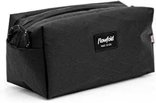 product image for Flowfold Dopp Kit Ultralight and Durable Toiletry Bag, Travel Bag (Black)