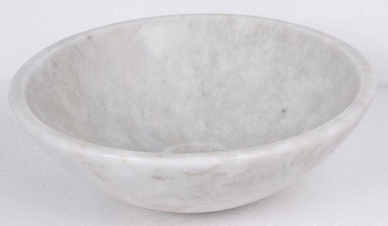 GTDE Oriental Color Blanco Piedra Natural/ B0035 /Lavabo m/ármol 35/cm x 12/cm