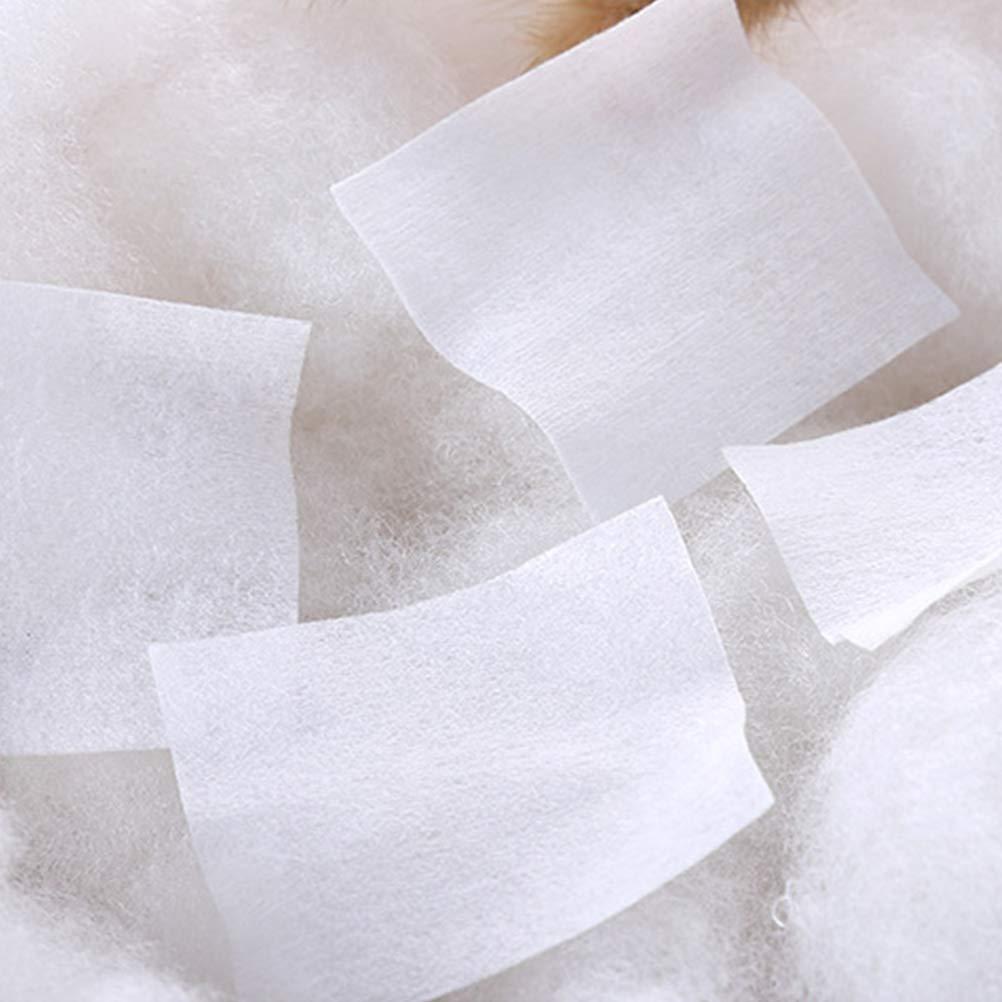 Frcolor 1000 st/ücke Baumwolle Quadrate Wattepads Make-Up Gesichtsreinigung Pads Weiche Make-Up Entfernen Baumwollt/ücher Augen Make-Up und Nagellack