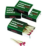 WATERPROOF MATCHES (4 BOXES) by liberty mountain