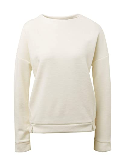 TOM TAILOR Denim Strick & Sweatshirts Meliertes Sweatshirt