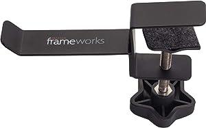 Gator Cases Frameworks Headphone Hanger for Desks (GFW-HP-HANGERDESK)