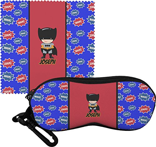 Superhero Eyeglass Case & Cloth (Personalized)