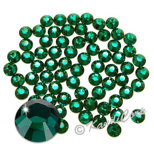 SS20 (5mm) Emerald - Swarovski 2038 HotFix Rhinestones - 144 pcs. (1 Gross)