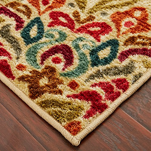 Mohawk Home Strata Jerada Floral Sphere Printed Area Rug, 5'x8', Multicolor by Mohawk Home (Image #6)