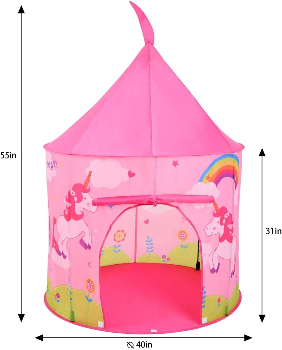 SOKA Play Tent Blue Pop Up Ocean Indoor or Outdoor Garden Playhouse Tent for Kids Childrens