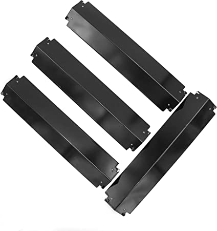 3 Pack Porcelain Steel Burner Cover Replacement for Char Griller Parts Grill
