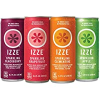 24-Pack IZZE Sparkling 8.4 Ounce Juice Pack