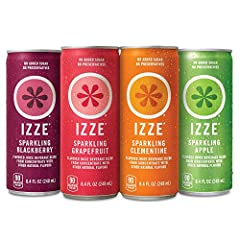 Whoever said juice can't sparkle your senses hasn't had our IZZE Sparkling Juices. These refreshing tongue-ticklers have just the right amount of bubbles to wake up every one of your taste buds. Not to give away all our secrets here, but it's...