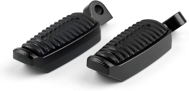 Noir Artudatch Repose-pieds de moto 45 degr/és Repose-pieds Repose-pieds Repose-pieds pour Harley Sportster XL 883 XL 1200 V-Rod Low Hugger