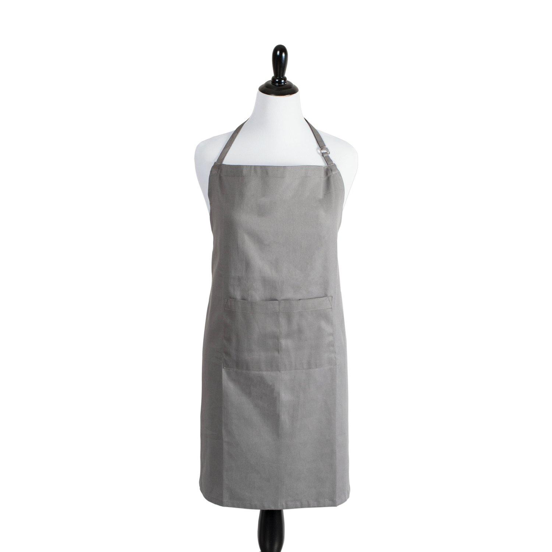 White grilling apron - Amazon Com Dii 100 Cotton Plus Size Chef Apron With Pocket Oversized Extra Large Unisex Restaurant Kitchen Bib Apron Adjustable Neck Waist Ties