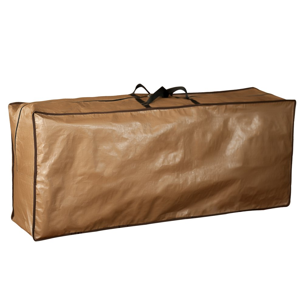 Abba Patio Outdoor Rectangular Cushion/Cover Storage Bag, Protective Zippered Storage Bags with Handles, 79''L x 30''W x 24''H by Abba Patio