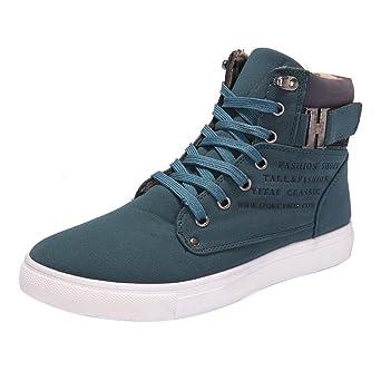 Amlaiworld Zapatillas De Hombre Zapatos de Primavera otoño Para hombres Zapatos masculinos Zapatos Oxford altos hombre