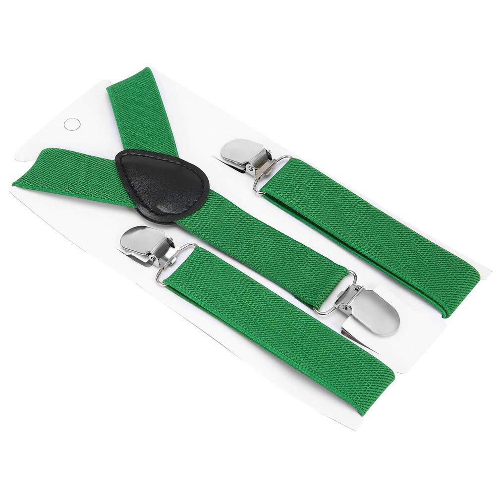 Verstellbare und elastische mit Metall Clips Polyester Kinder Design Hosenträger und Bowtie Fliege Set passende Krawatten Outfits