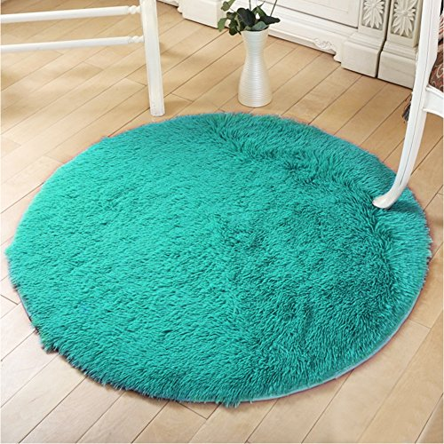 YOH Super Soft Round 4x4 Feet Area Rug for Bedroom Kids Room
