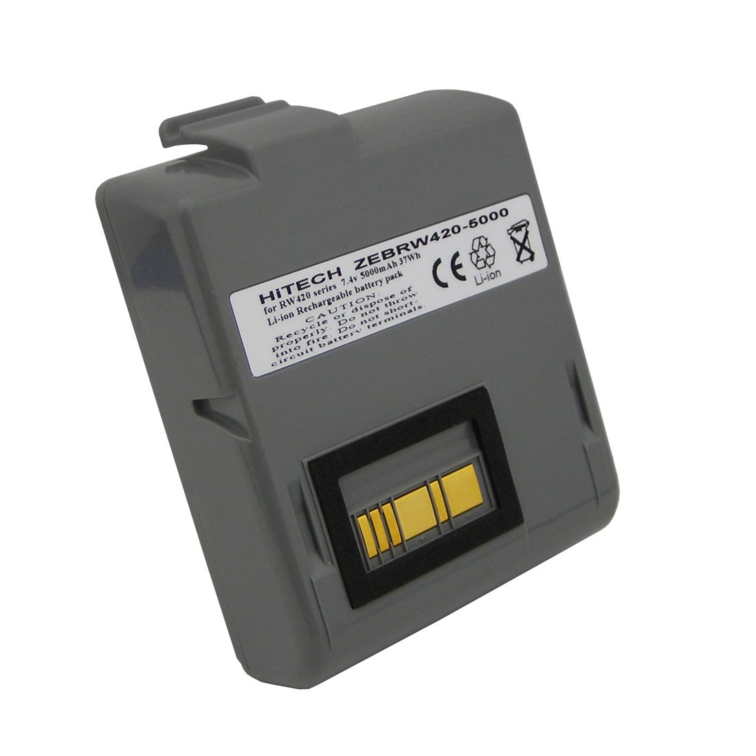Battery CT17102-2, AK17463-005(Cells of Made in Japan)for Zebra RW420 Portable Label Printers (Li-Ion, 5000mAh)