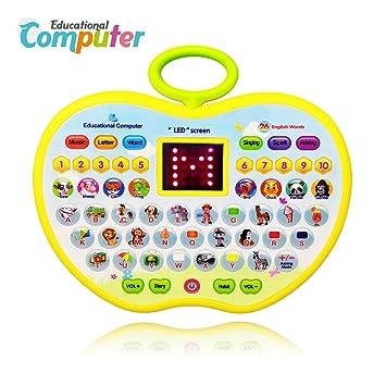 3 Spiele  Computer Kinderspielzeug Lernspielzeug 4-8 Jahre Kindercomputer Leap Pad