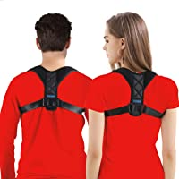 Comezy Back Posture Corrector for Women & Men - Powerful Magic Stickers Adjustable Clavicle Back Brace - Providing Pain…