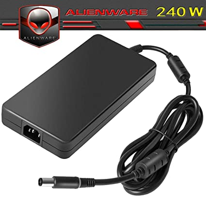 Amazon com: 240W AC Charger for Alienware M17x R4,17 R3,M18x