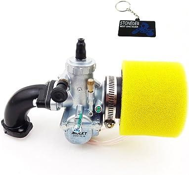 Stoneder 26 Mm Molkt Vergaser Luftfilter Ansaugrohr Für 140cc 150cc 160cc Ssr Thumpstar Pit Dirt Bike Auto