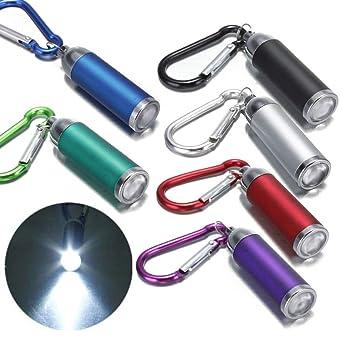 Ruby569y linterna LED portátil, linterna de bolsillo mini ...