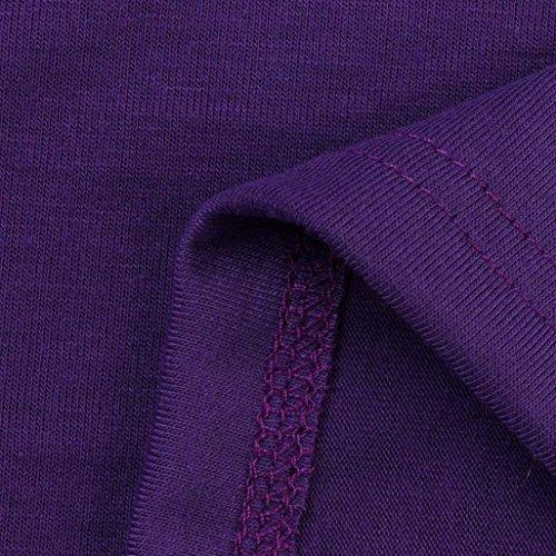FRYS chemise femme chic soiree dentelle manteau femme grande taille Printemps pull femme hiver fashion blouse femme casual vetement femme pas cher mode chemisier femme top t shirt fille Violet