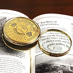 Smithsonian 40-Year Calendar and Magnifier