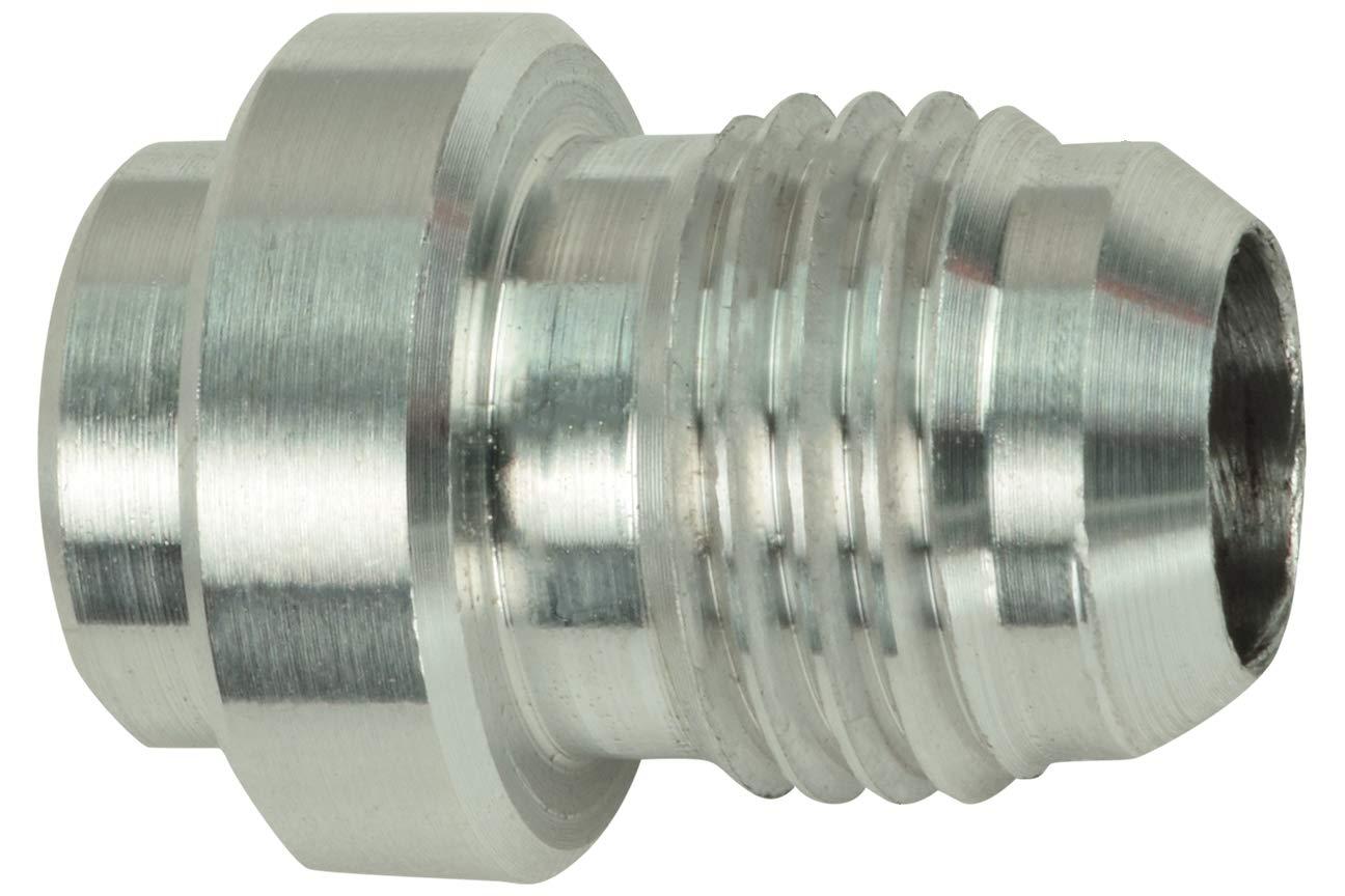 Aluminum -6AN Weld On Bung Male Hose End Nipple Weldable 6 AN, AN970-06A ICT Billet