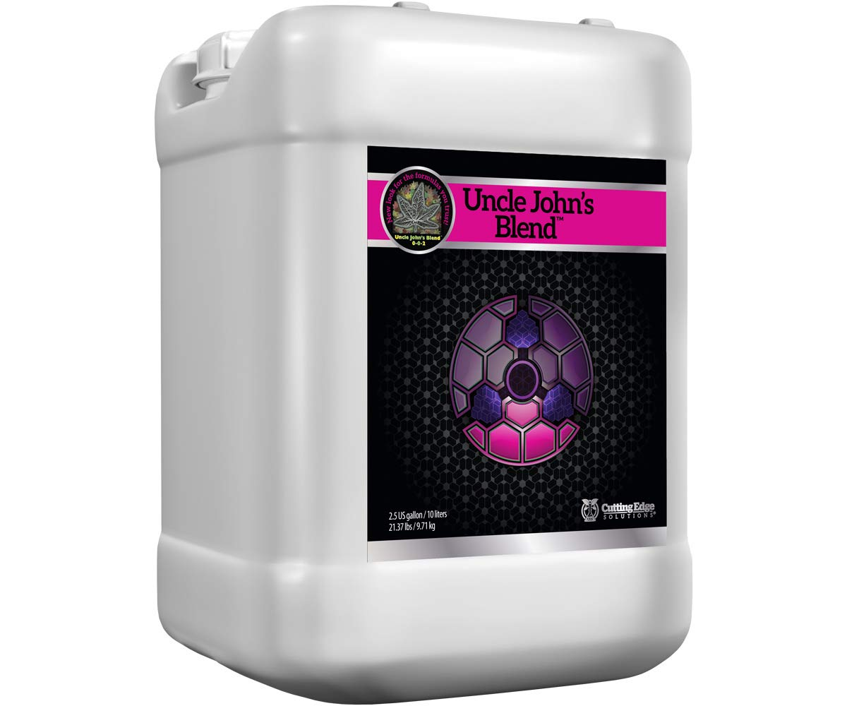 Cutting Edge Solutions Uncle John's Blend 0-0 - 2 Cutting Edge Uncle John's Blend 2.5 Gallon (1/Cs)