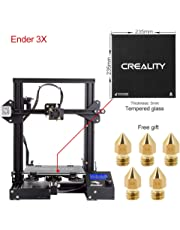 Comgrow Creality 3D Printer Ender-3X with Tempered Glass Plate 220*220*250