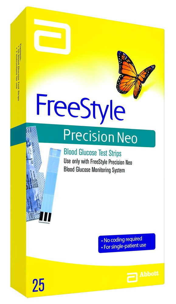 Freestyle Precision Neo Blood Glucose test strips, 0.05 Pound