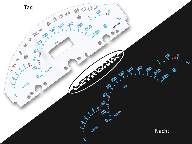 Letronix Plasma Tacho Tachoscheiben Für Auto A Klasse W168 0 220km H 6000u Min Auto