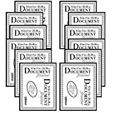 Studio 500 8.5 by 11-inch, The Original Document Photo Frame, Black, 12-Pack