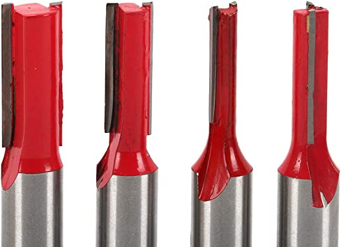 Carbide Tipped Woodworking Tools Straight Router Bit Size : 1//2 1//2-Inch Shank Flute Plunge Milling Cutter Cutting Dia