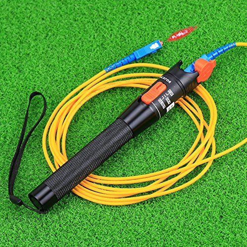 Localizador de fallos FTTH 10mw-12 km Cable Tester Medidor