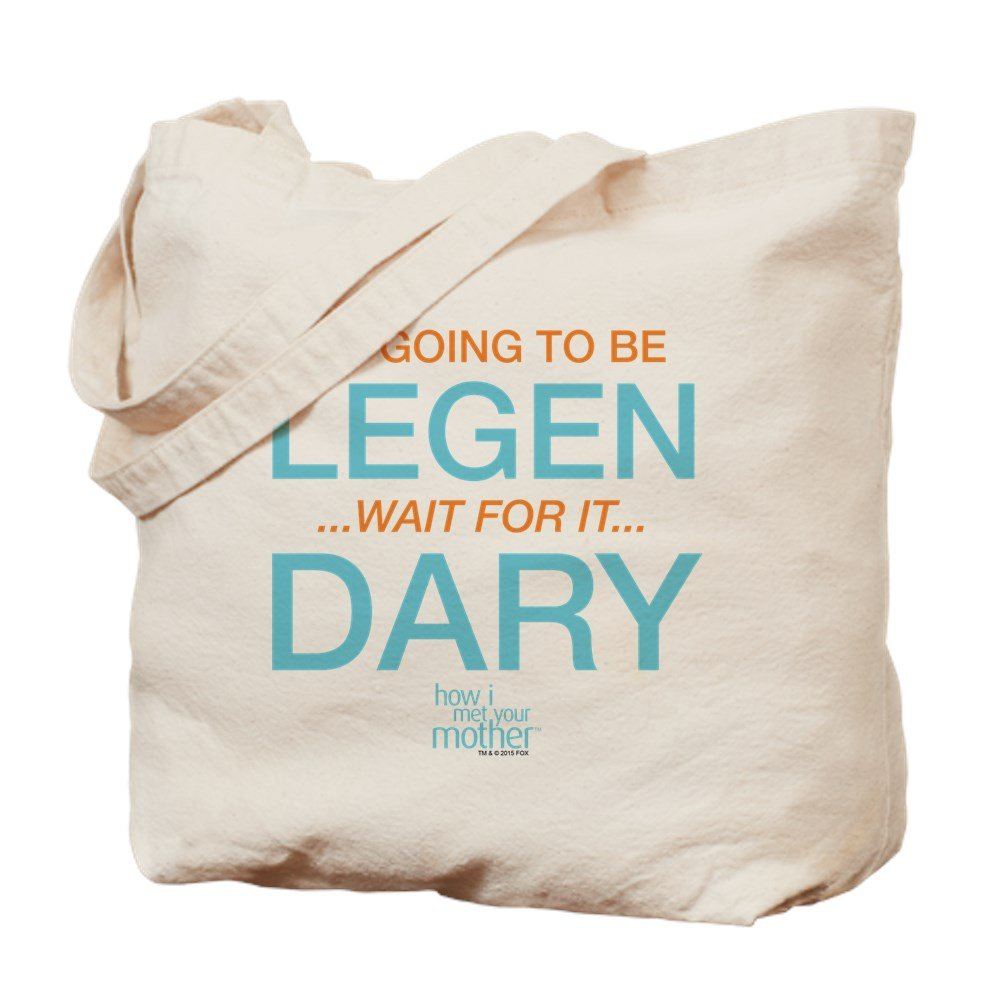 CafePress – ママと恋に落ちるまでLegendary – ナチュラルキャンバストートバッグ、布ショッピングバッグ B01BXTFM4U