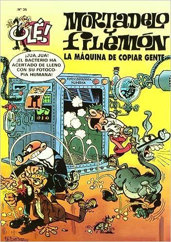 La máquina de copiar gente Olé! Mortadelo 36 Bruguera Clásica: Amazon.es: F. (Ibañez Talavera, Ibañez: Libros