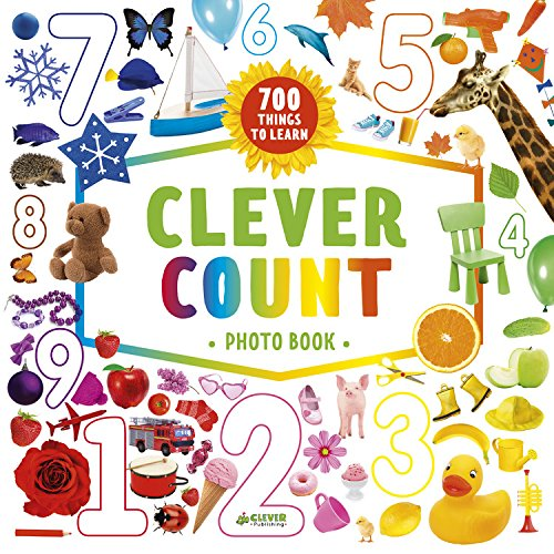 Clever Count Photo Book: 700 Things To Count (Clever Search And Count)