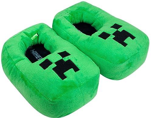 Minecraft Creeper Zapatillas verdes para niños: Amazon.es: Zapatos y complementos