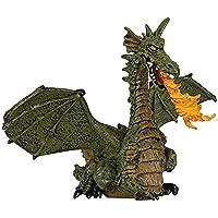Papo 39025 – Brandmatare drake med vingar, spelfigur, grön