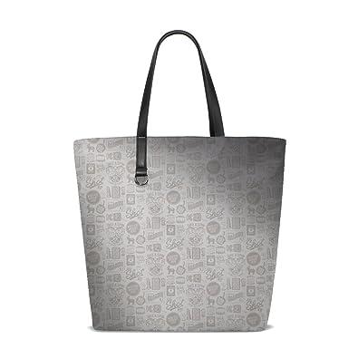 9596d9c6f5 Amazon.com  Line Pattern Background Texture Light Tote Bag Purse Handbag  For Women Girls  Shoes