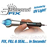 Gadget Hero's™ 5 Second Fix Liquid Plastic With UV Light Curing / Welding Kit - Fix, Repair and Seal Anything in 5 Seconds