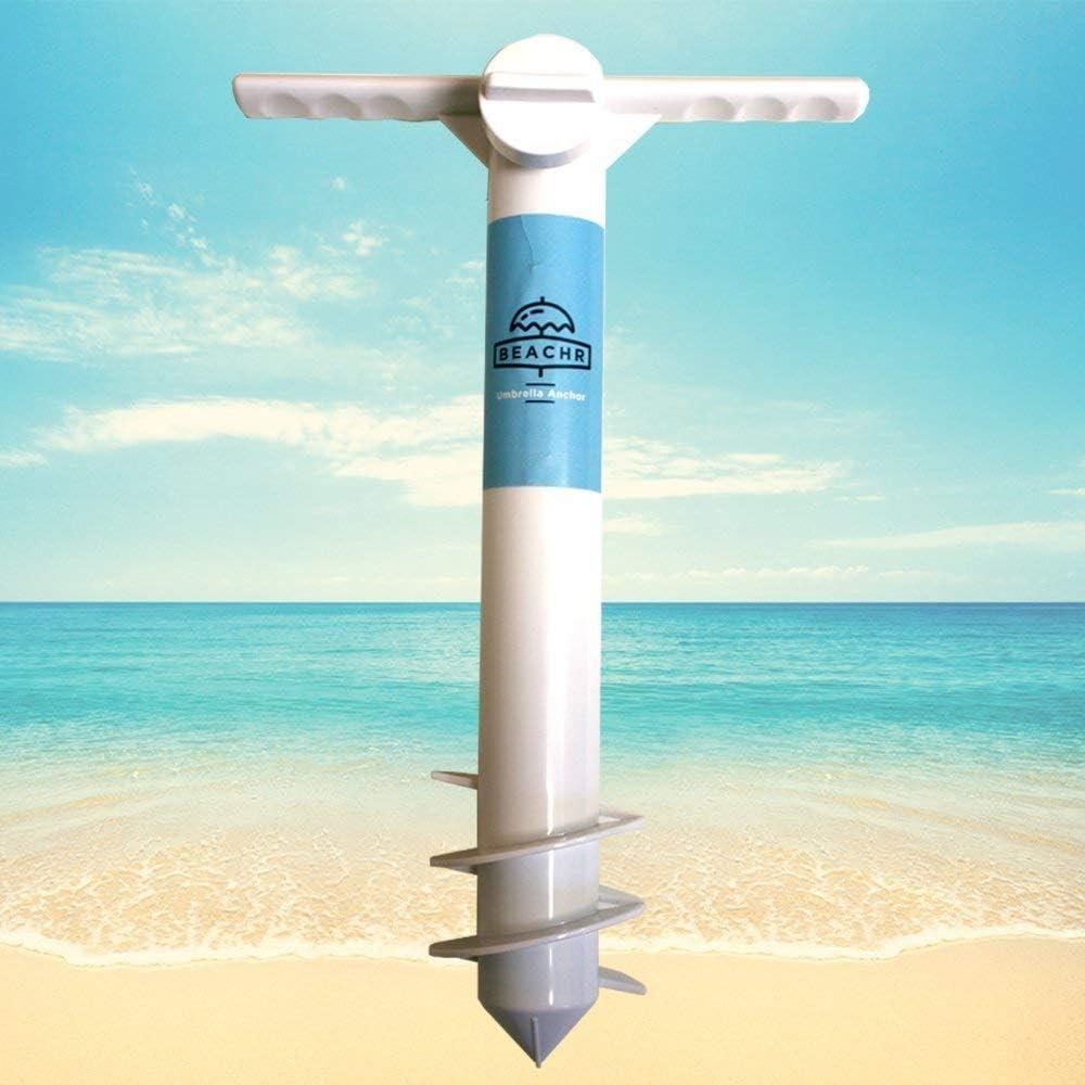 Beachr Safe Stand Beach Umbrella Sand Anchor $14.85 Coupon