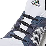 New One-Size Fits All HICKIES 2.0 Performance No-Tie Elastic Laces - Black (14 HICKIES Shoelaces, Works in all shoes)